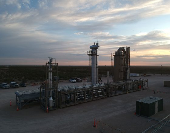 Greyrock Delivers M-Class Plant to Permian, Texas (USA)